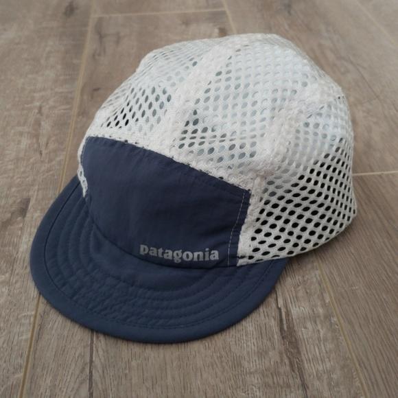 fa97eb65f25 Dark blue Patagonia duckbill mesh running cap hat.  M 5b9c3da46a0bb70e10274356. Other Accessories ...